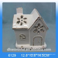 Home decoration ceramic house craft