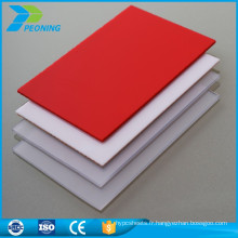 Vente chaude clear harga awaring polycarbonate solid sheet supplier