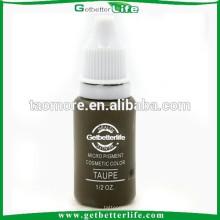 Maquillaje de Getbetterlife permanente maquillaje pigmento ceja no Toxic15ml Taupe tinta del pigmento