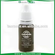 Maquillage Getbetterlife maquillage Permanent Pigment sourcil Non Toxic15ml Taupe encre pigmentée