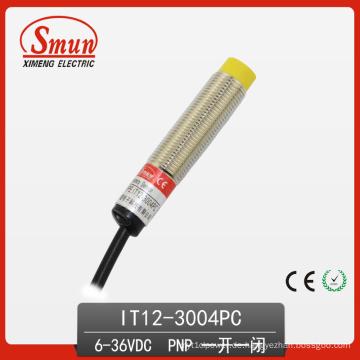 Sensor 6V-36VDC Dreiadrige DC PNP Induktive Näherungsschalter mit 4mm Erfassungsabstand