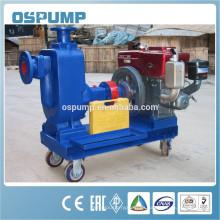 Bomba de aguas residuales diesel del cebo autocebante para el agua en China