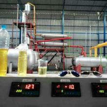 Автоматический завод по переработке сырой нефти и дистилляции