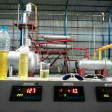 Installation automatique de pétrole brut et de distillation