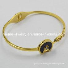Bracelets artificiels à bijoux plaqués or en argent 2015
