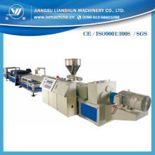 Planta de fabricación de perfil WPC con Ce