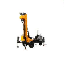 Wheel Pneumatic Top hammer rock drilling rig