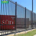 cheap powder coated metal steel fence