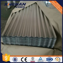 Corrugated galvanized zinc roofing sheets