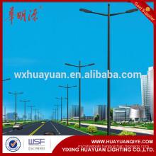 HDG powder coating steel Square light Poles