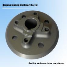 Custom precision cnc machining carbon steel flange
