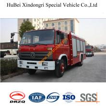 6ton Dongfeng Medio-baja bomba 153 Foam Fire Truck Euro3