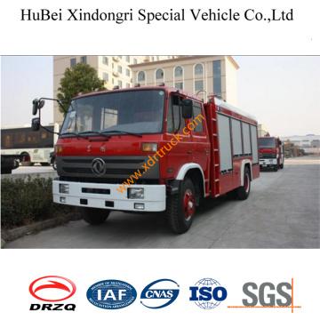 6ton Дунфэн средний-низкий насос 153 пены пожарная машина Евро3