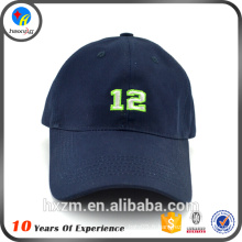 Broderie élégante Custom Custom Logo Baseball Cap