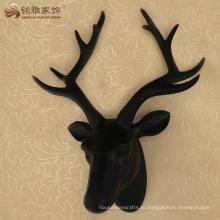 Современные декоративные смолы головы оленя статуя на стене висит декор