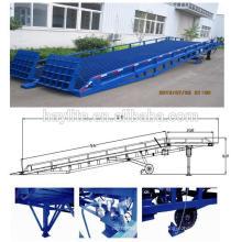 rampe de skate hydraulique galvanisée à chaud