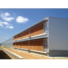 Maison de volaille de structure métallique d'anticorrosion / maison de poule (KXD-PCH11)