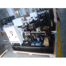 Open type 20KW electric start generator with cummins engine