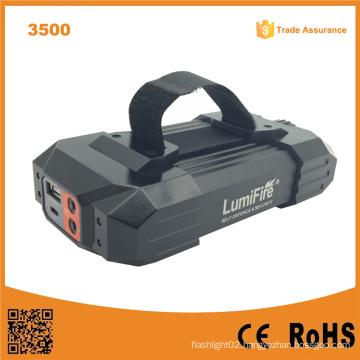 Lumifire 3500 10400mAh Rechargeable 4*18650 LED Flashlight Torch
