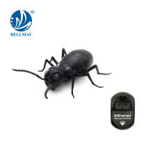 Remote control infrared black plastic ant toy