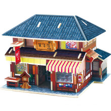 Wood Collectibles Toy for Global Houses-Japan Dessert House