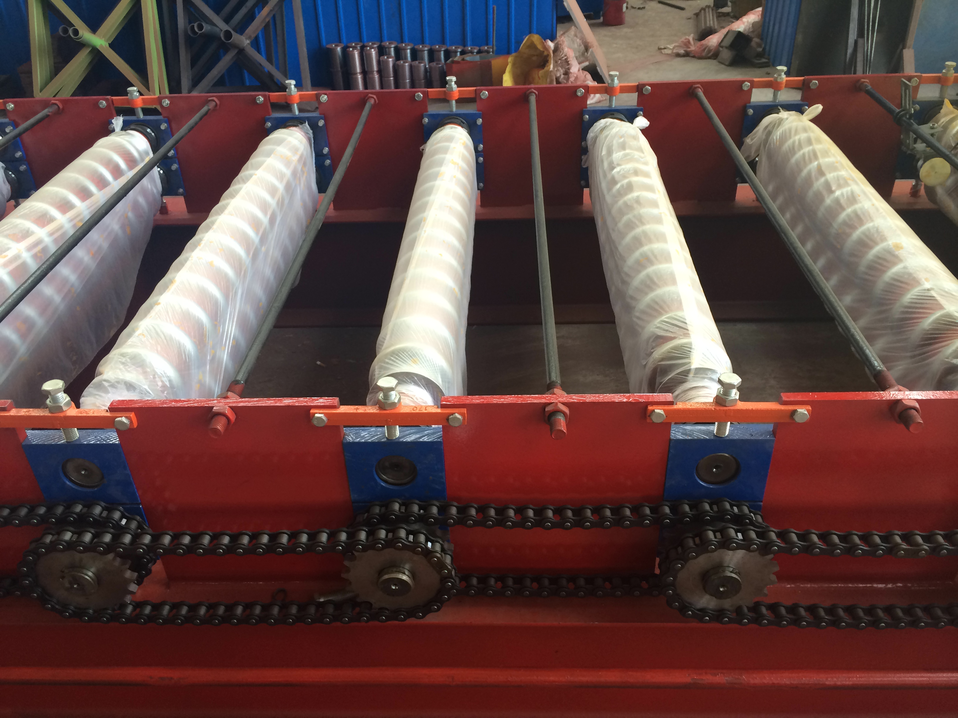 corrugated roof sheet roll forming machine to Mexico