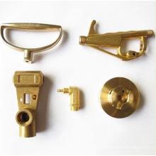 Brass precision machined part