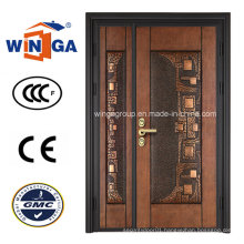 Classic Security Steel Metal Iron Copper Door (W-STZ-05)