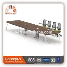 (MFC) HT-21-66 armature moderne d'acier inoxydable de table de conférence pour des tables de conférence de 6.6M à vendre