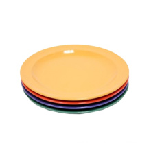 eco-friendly biodegradable 6/7/9/10/12 inch Coloful Disposable plastic charger plate