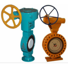 worm gear turbine drive tomoe butterfly valve