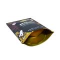 bolsa de pie de impresión digital con papel de aluminio