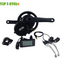 Kit de bicicleta eléctrica de motor de accionamiento central kit de motor de cubo de rueda y kit de bicicleta E y kit de bicicleta eléctrica