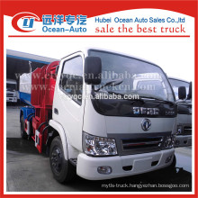 DFAC factory directly sale 4x2 mini self loading garbage truck