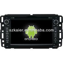 reprodutor de DVD do carro para o sistema Android GMC