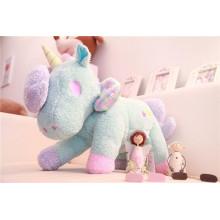 Cute popular peluche peluche juguete unicornio suave juguete personalizado peluche de juguete