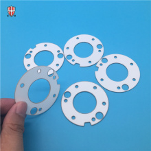laser cutting heat sink macor ceramic disc substrate