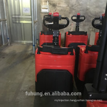 Top sale heavy weight stand on fully electric 3m 4.5 m pallet stacker