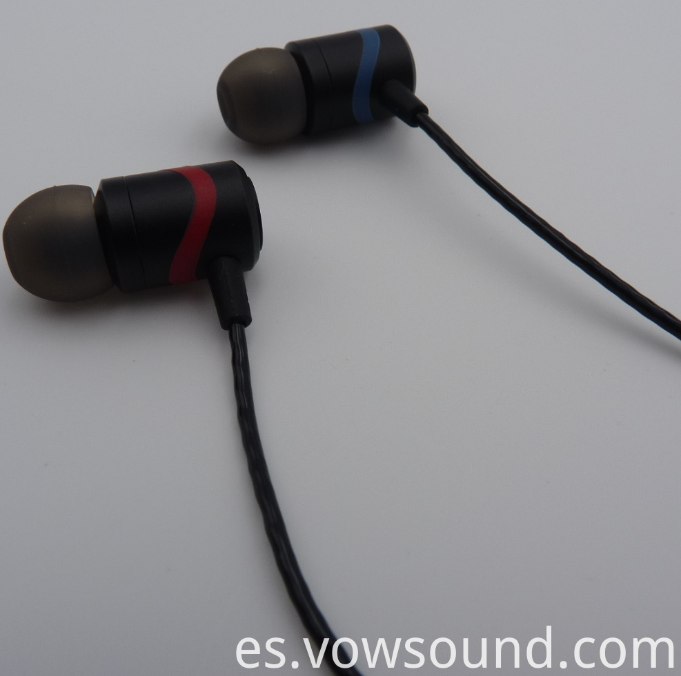 Metal Earphones with Microphone