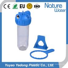 Filtro de Água Transparente com Chave e Rosca PP