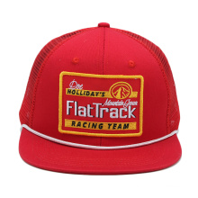 Atacado moda design personalizado seu próprio logotipo plana em branco longo brim neon snapback corda trucker chapéus