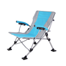 Atacado ao ar livre dobrável cadeira de sol cadeira de metal dobrável cadeira de acampamento