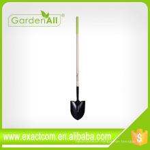 Multi Function Cheap Soil Digging Round Point Shovel Spade