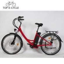 Vélo électrique de la bicyclette électrique de moteur de moyeu de roue du vélo électrique 300W de la Chine