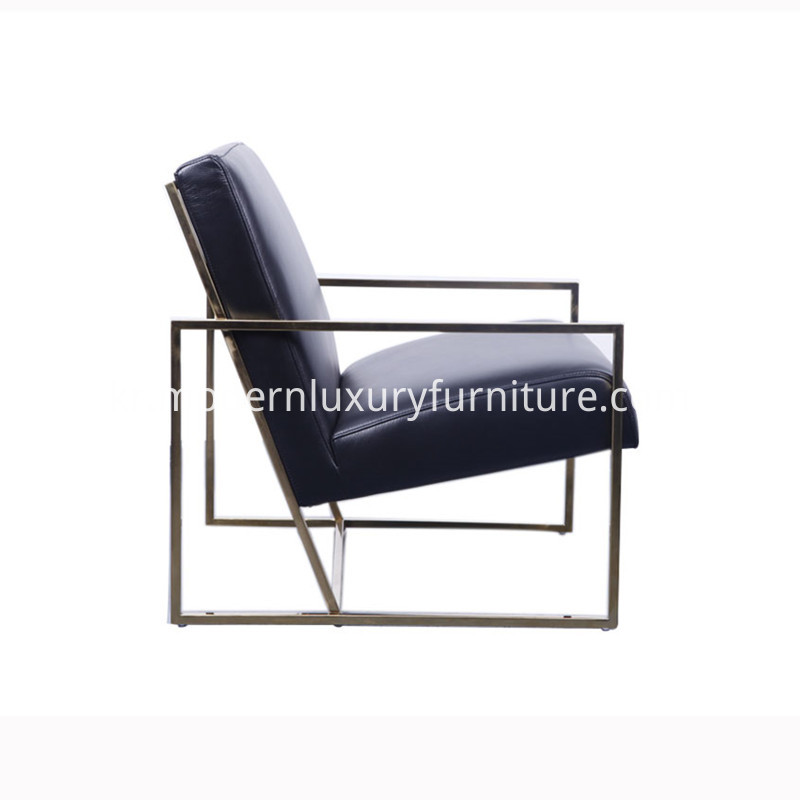 steel lounge chair