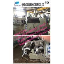 Linha da extrusão da tubulação do gêmeo do PVC Sjsz51 / 105 / máquina expulsando / maquinaria plástica (16-63mm)