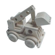 Greifen Kran LKW Spielzeug Mini Holz Bagger