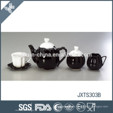 Cerâmica eco-friendly resistente ao calor durável estilo japonês fino copo de chá conjunto