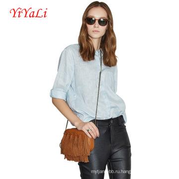 Женщины моды Постельное белье хлопок короткий рукав