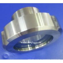 Vidrio de la visión de la unión del acero inoxidable DIN para el proceso de alimento